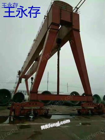 精品双主梁龙门吊ME100(50+50)吨 跨度50米升高度有效12米出售