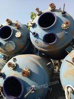 山东济宁出售10台5000升3000升二手反应设备8000元