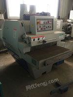 河北沧州出售1台青城自动多片纵锯机二手木工锯床电议或面议