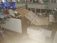 出售1.2米宽飞豹全自动卷对卷丝网印刷机