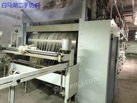 出售07年蓝白漆郑纺机GA309一300浆纱机一台