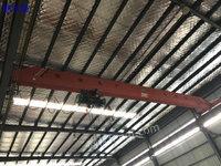 出售货场新到单梁起重机,LD10吨-16.5米单梁两台,LD5吨16.5米单梁1台
