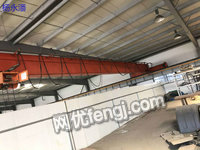 出售欧式单梁起重机,方箱梁南京起重机总厂生产HD5吨-26米单梁一台,HD3吨-