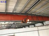 出售货场新到欧式单梁起重机,方箱梁南京起重机总厂生产HD5吨-26米单梁一台,H