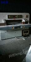 现货库存1150上海申威达切纸机.二手切纸机