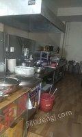 供应二手面馆餐饮整套设备 15000元