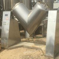 高价回收,二手V型混合机,槽型混合机,二维混合机,三维混合机等