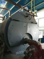 出售16年4吨二手燃气燃油蒸汽锅炉