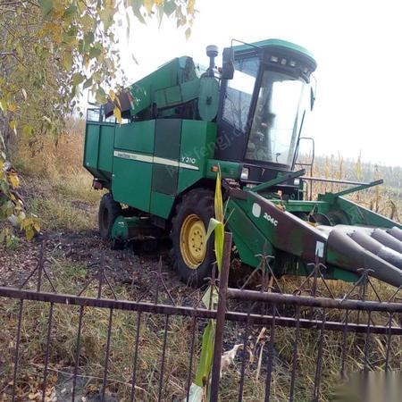 出售闲置二手4条笼玉米收割机 60000元