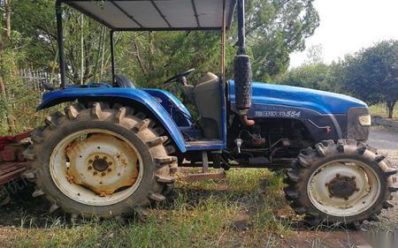 自用二手福田拖拉机转让,性能优良,送旋耕机播种机 21000元