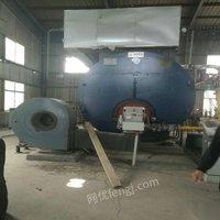 出售二手精品十吨冷凝式燃气蒸汽锅炉