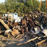 高价回收各种废铁工地废铁建筑废铁厂房拆迁店铺清理