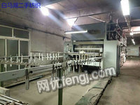 出售沈阳大卷装整经机一台,移动纱架720头,37个铝合金轴盘