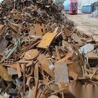 江西赣州高价回收各种废铁废金属废电瓶建筑废铁扣件钢筋管料