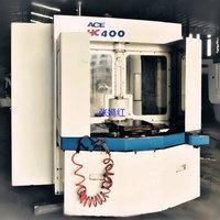 江苏常州出售1台二手韩国大宇双工位400卧式加工中心HC-400A带中电议或面议