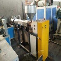 出售二手9成新pe管材生产线数条 58000元