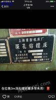 出售供 深孔钻镗床。 To一2132x3米  上海产    合作