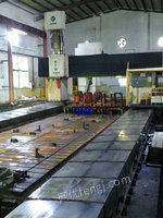 出售海天2013年产数控动柱式龙门五面体铣镗床工作台4X9米