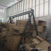 处置积压2吨龙门架新葫芦