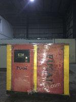 上海松江区求购1台二手螺杆空压机。