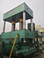 出售二手1000吨液压机/台面2/3.2米,行程1.2米/多点顶出移动台