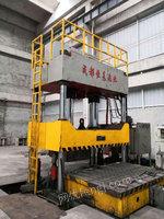 出售二手1000吨液压机2.2/3.2米 多点顶出移动台