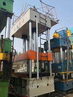 出售630吨液压机/1.8/2.8米/行程1.2米/多点顶出移动台