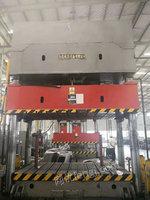 出售二手800吨液压机/台面2/3米/多点顶出移动台