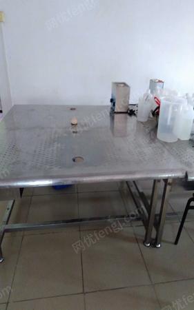 不锈钢工作台,有手工加工很合适130cm*140cm*76cm