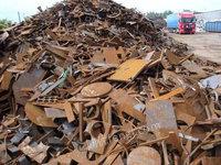 长期回收工地废钢铁