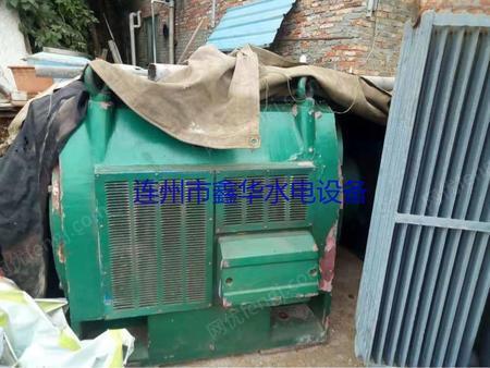 低价出售500KW-8极水轮发电机