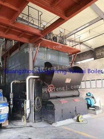 Buying used 10T/12T/15T/20T/25T biomaterial chain steam boiler