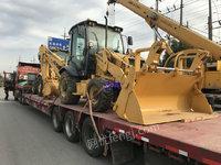 市场库存贵州柳工CLG777A挖掘装载机