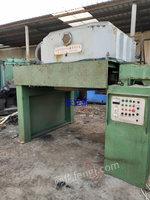 河北沧州出售2台1.2米二手倒立式拉丝设备