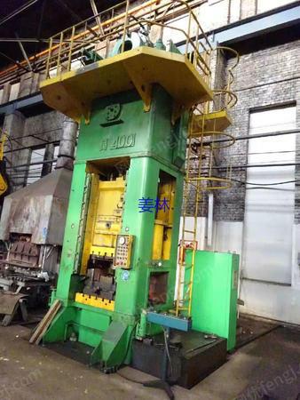 出售二手俄罗斯产400吨闭式单点压力机