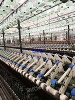 山东德州出售90台二手棉麻纺纱设备电议或面议