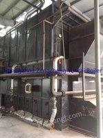 Selling used 10T biomaterial fuel&steam boiler