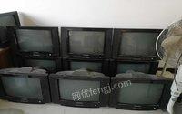 出售二手大量彩色电视机