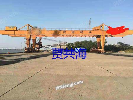出售二手龙门吊50T-40米各悬17米升高12米