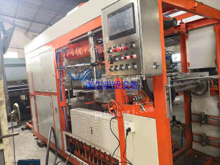 广东深圳出售1台1220二手塑料包装设备/全自动高速真空吸塑成型机