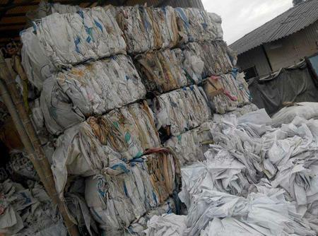 安徽六安回收废旧吨包袋,编织袋