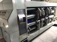 出售二手上海圣龙四色印刷开槽模切机.二手印刷开槽模切机