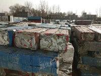 出售河南郑州300吨彩钢岩棉板压块