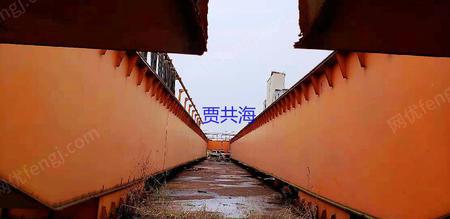 江苏镇江工地出售QD双梁行车16T-29.5米2台