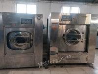 河北石家庄出售1台100公斤洗脱一体酒店布草洗涤设备二手洗涤设备30000元