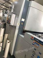 转卖二手台湾文承全自动高速链刀覆膜机规格1100/1300