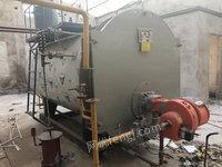 北京出售2噸二手燃氣燃油熱水鍋爐