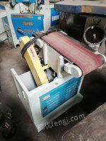 出售马氏木工平板砂 木工砂带机 二手木工机械回收