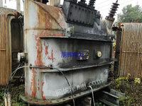 全国回收冶炼厂二手电石炉变压器,二手干式变压器
