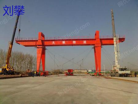 贵州长期回收二手行车 龙门吊 A字钢 钢结构、 砂场设备 破碎机等